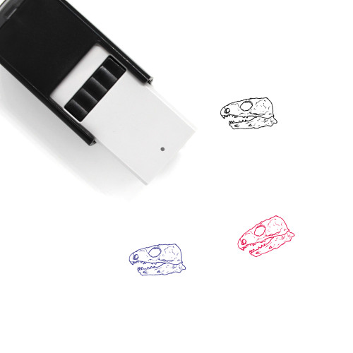 Kannemeyeria Skull Self-Inking Rubber Stamp No. 1