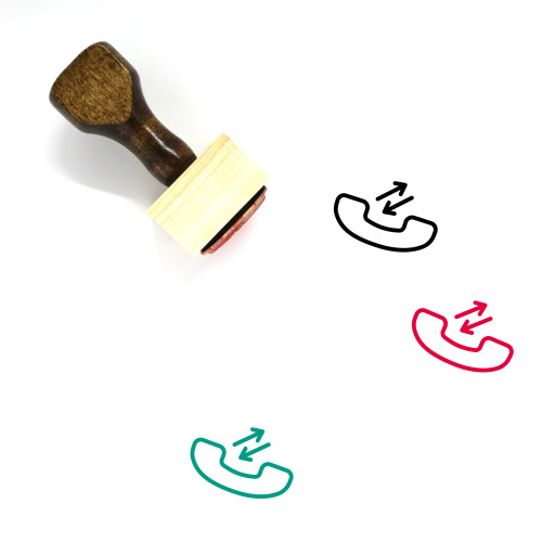 Answer Wooden Rubber Stamp No. 27