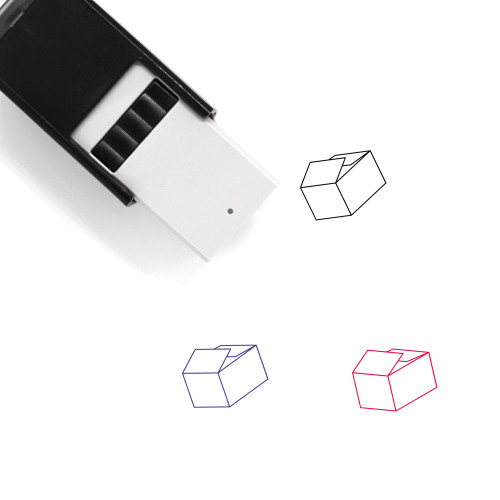 Box Self-Inking Rubber Stamp No. 157