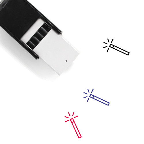 Magic Wand Self-Inking Rubber Stamp No. 43