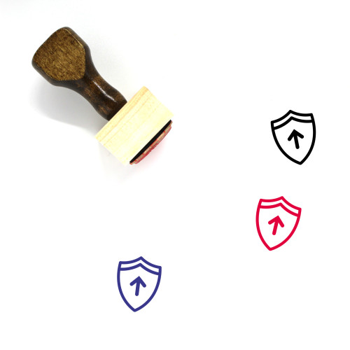 More Protection Wooden Rubber Stamp No. 1