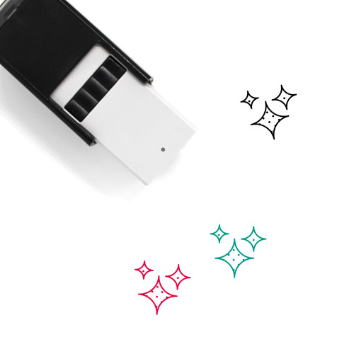 Shine Self-Inking Rubber Stamp No. 11