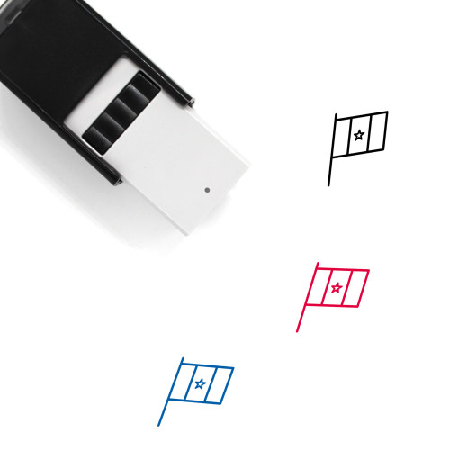 Cameroon Self-Inking Rubber Stamp No. 7
