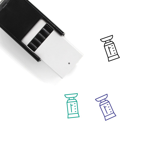 Weighing Scale Self-Inking Rubber Stamp No. 16