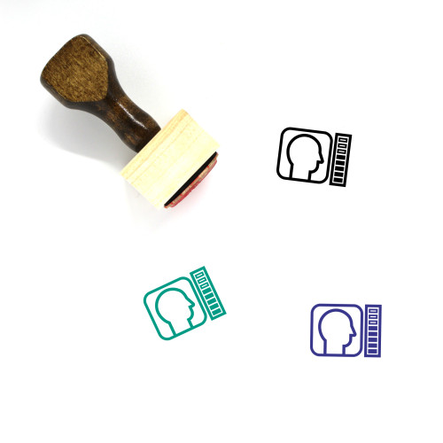 Recruitment Wooden Rubber Stamp No. 12