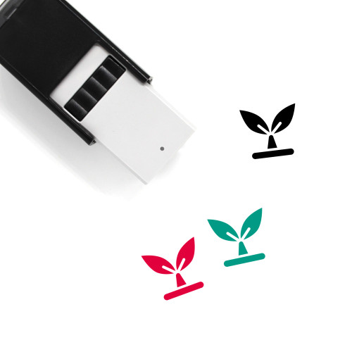 Seedling Self-Inking Rubber Stamp No. 2