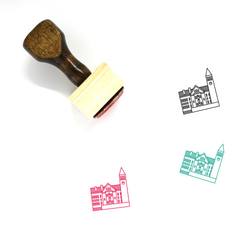 Cornell University Wooden Rubber Stamp No. 1