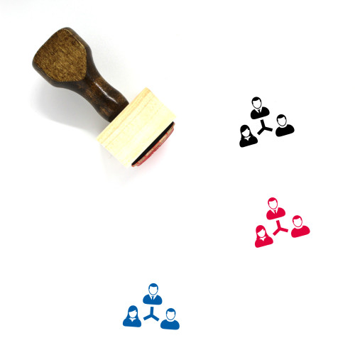Communication Wooden Rubber Stamp No. 133
