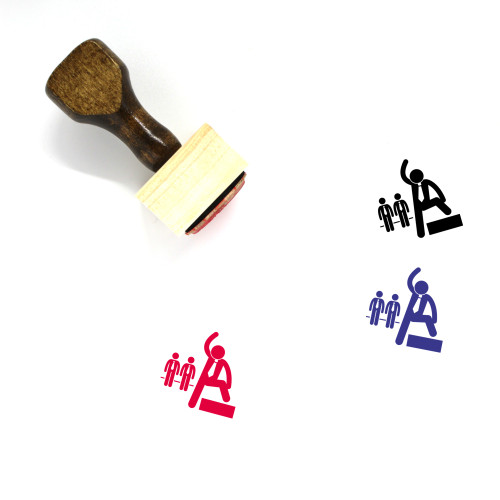 Leadership Wooden Rubber Stamp No. 33
