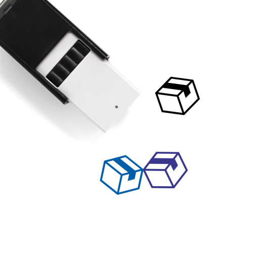 Box Self-Inking Rubber Stamp No. 162
