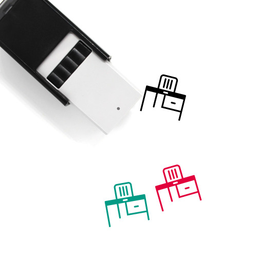 Desk Self-Inking Rubber Stamp No. 42