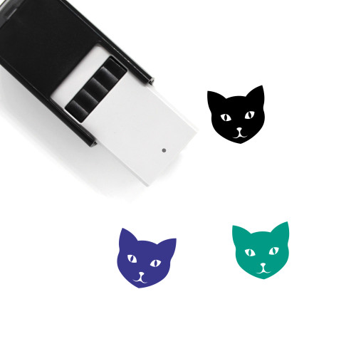 Cat Self-Inking Rubber Stamp No. 148