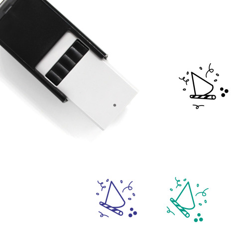 Party Self-Inking Rubber Stamp No. 41