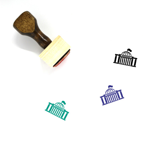 Parliament Wooden Rubber Stamp No. 5