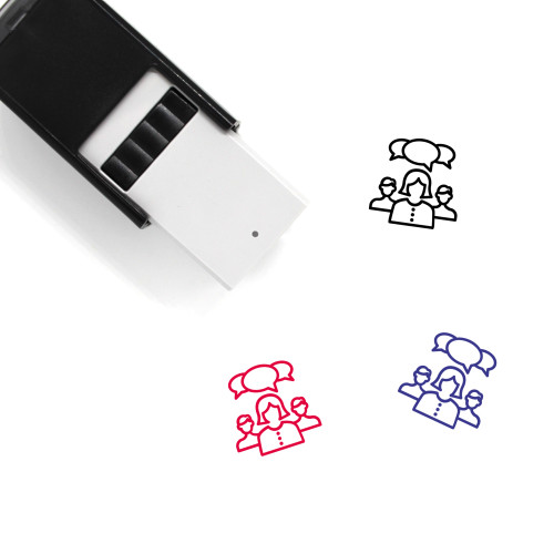 Leader Self-Inking Rubber Stamp No. 88