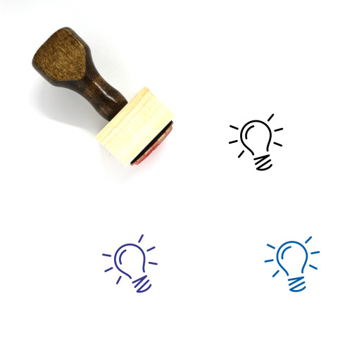 Idea Wooden Rubber Stamp No. 95
