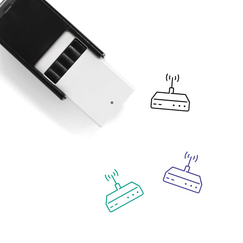 Router Self-Inking Rubber Stamp No. 2