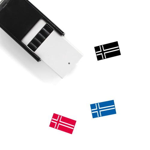 Norway Self-Inking Rubber Stamp No. 13