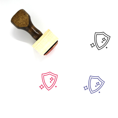 Magic Wooden Rubber Stamp No. 7