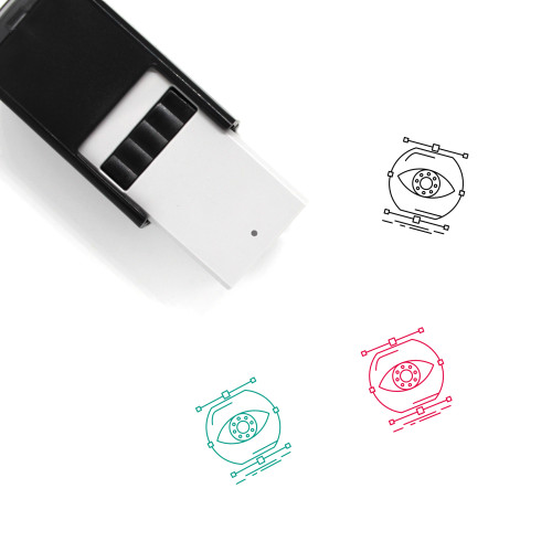 Visualize Self-Inking Rubber Stamp No. 3