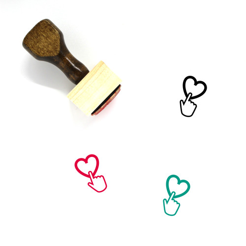 Love Wooden Rubber Stamp No. 584
