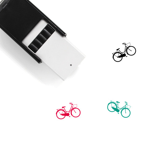 Bicycle Self-Inking Rubber Stamp No. 161