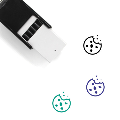 Chocolate Chip Cookie Self-Inking Rubber Stamp No. 5