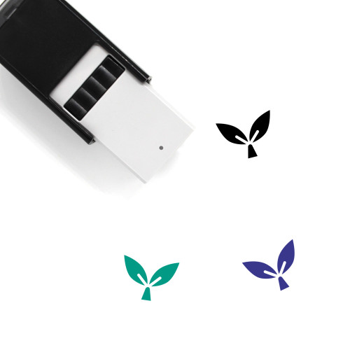 Seedling Self-Inking Rubber Stamp No. 3