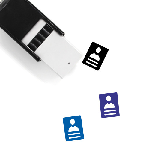 Id Card Self-Inking Rubber Stamp No. 66