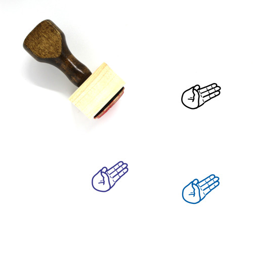 Scouts Honor Wooden Rubber Stamp No. 3