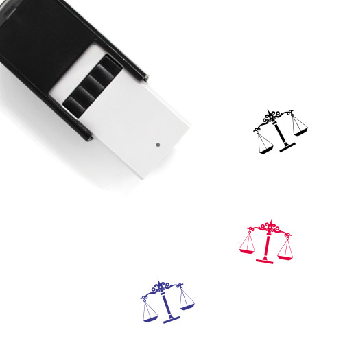 Libra Self-Inking Rubber Stamp No. 64