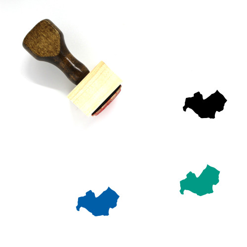 Molise Wooden Rubber Stamp No. 1