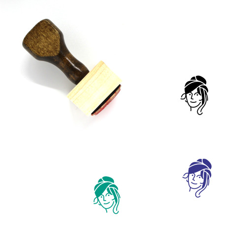 Persona Wooden Rubber Stamp No. 35