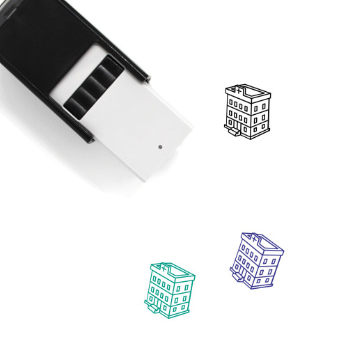 Hospital Self-Inking Rubber Stamp No. 188