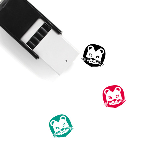 Animal Self-Inking Rubber Stamp No. 125