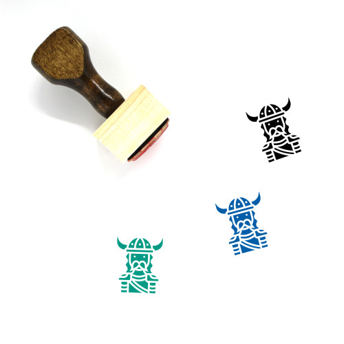 Viking Wooden Rubber Stamp No. 32