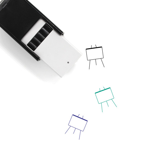 Whiteboard Self-Inking Rubber Stamp No. 18