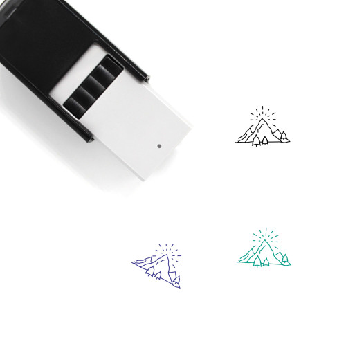Hill Self-Inking Rubber Stamp No. 24