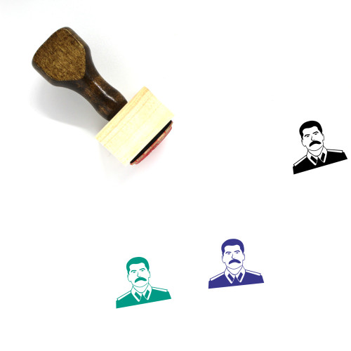 Joseph Stalin Wooden Rubber Stamp No. 2