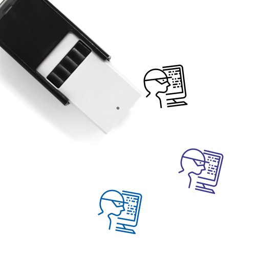 Cyber Crime Self-Inking Rubber Stamp No. 12
