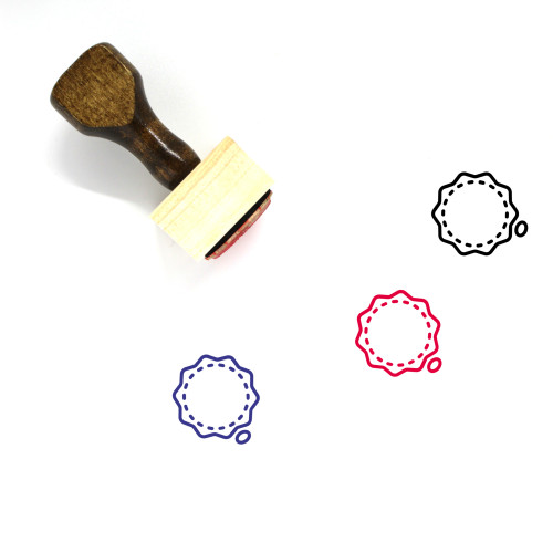 Seal Wooden Rubber Stamp No. 37