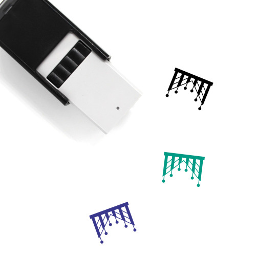Decoration Self-Inking Rubber Stamp No. 260