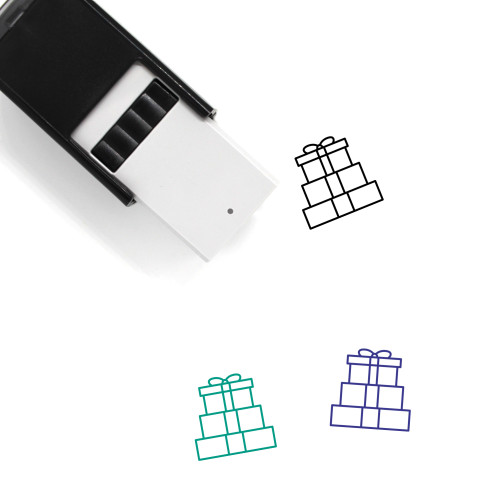 Presents Self-Inking Rubber Stamp No. 12