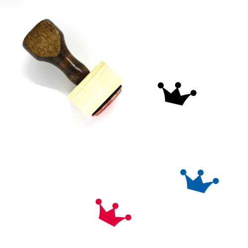 King Wooden Rubber Stamp No. 388