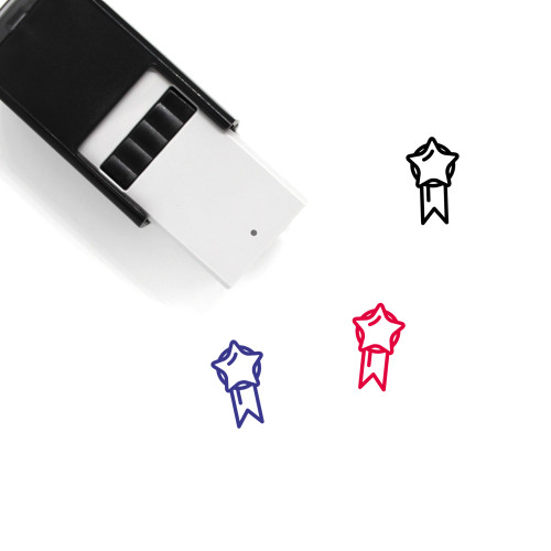 Medal Self-Inking Rubber Stamp No. 380
