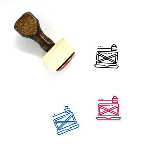 Cyber Crime Wooden Rubber Stamp No. 14