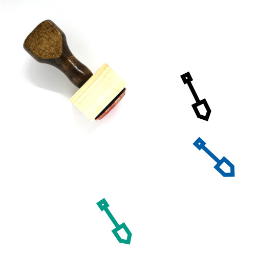 Construction Tool Wooden Rubber Stamp No. 17