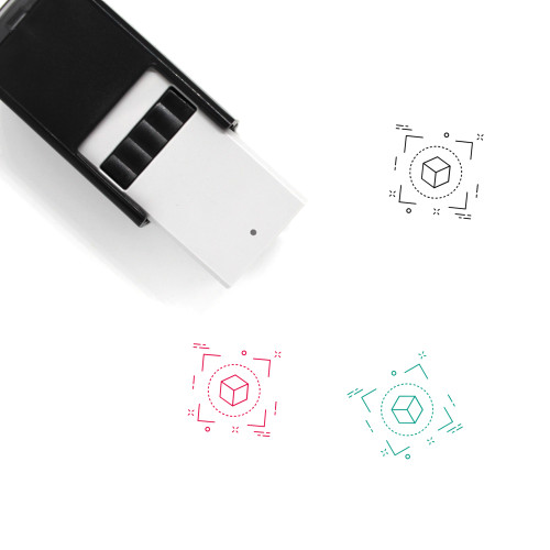 Cube Self-Inking Rubber Stamp No. 70