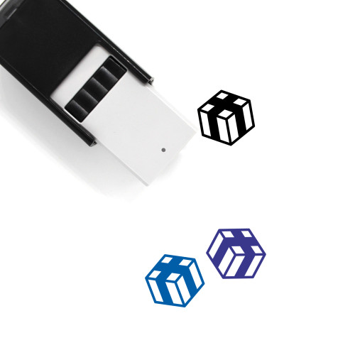 Box Self-Inking Rubber Stamp No. 166