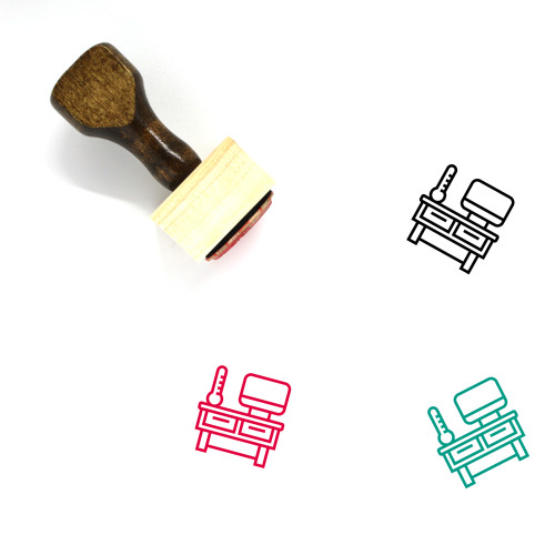 Recruiter Wooden Rubber Stamp No. 3